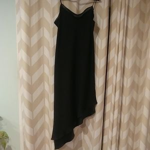 Woman's black dress
